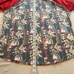 LuLaRoe Tops - LuLaRoe 2XL Disney Cruella de Ville Sloan Top